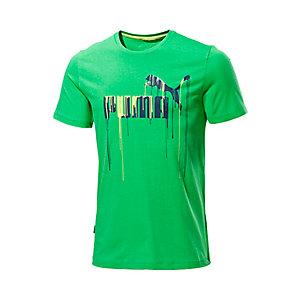 PUMA Paint Drip T-Shirt Herren grün