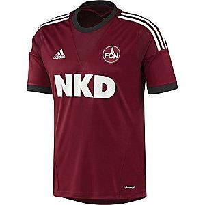 adidas 1. FC Nürnberg Heimtrikot 2013/14 Herren bordeaux/weiß