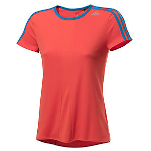 adidas Laufshirt Damen orange/blau