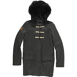 Element Duffy Dufflecoat Damen anthrazit