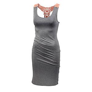 Maui Wowie Trägerkleid Damen graumelange