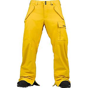 Burton Poacher Snowboardhose Herren gelb