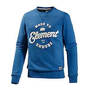 Element Russel Sweatshirt Herren türkis