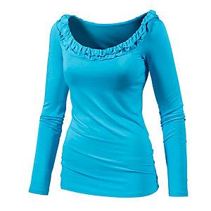 Maui Wowie Langarmshirt Damen hellblau