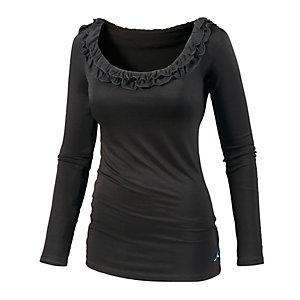 Maui Wowie Langarmshirt Damen schwarz