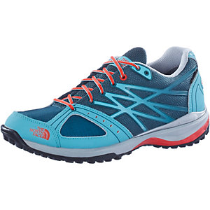 The North Face Ultra Hike GTX Multifunktionsschuhe Damen hellblau/rot