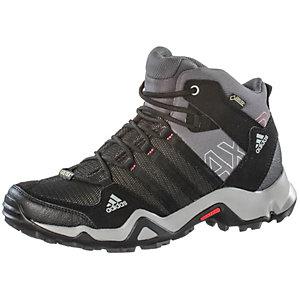 Adidas AX2 Mid GTX Wanderschuhe Damen schwarz/grau im Online Shop von