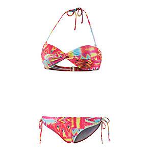 Billabong Maya Lowrider Bandeau Bikini Damen bunt