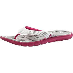 adidas Adipure 360 Thong Zehensandalen Damen grau/pink