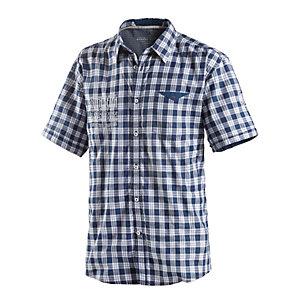TOM TAILOR Kurzarmhemd Herren blau