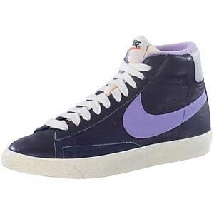 Nike Blazer Mid Leather Vintage Sneaker Damen lila