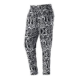 S.OLIVER Printhose Damen schwarz/weiß