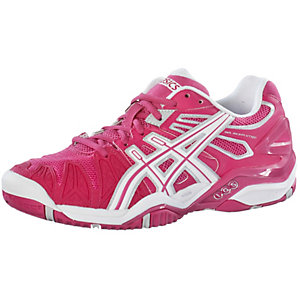 asics gel resolution 5 w tennisschuhe damen pink wei im online shop von sportscheck kaufen. Black Bedroom Furniture Sets. Home Design Ideas