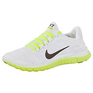 Nike Free Damen Weiß Grau