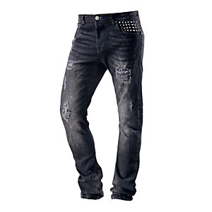 VSCT Walker Straight Fit Jeans Herren black denim