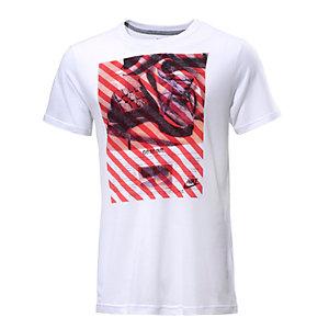 Nike Hazard Printshirt Herren weiß