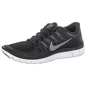 Nike Free 5.0 Herren Laufschuhe Schwarz