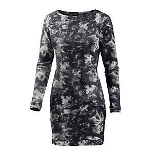 BLEND Jerseykleid Damen schwarz