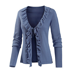Neighborhood Strickjacke Damen blau