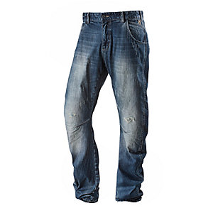 Neighborhood Loose Fit Jeans Herren used denim