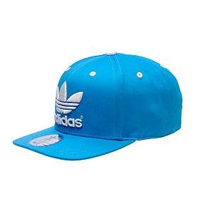 adidas TRE FLAT Cap blau/weiß