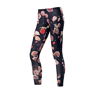 adidas Leggings Damen schwarz/rose