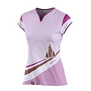 Wildzeit Gitti Fahrradtrikot Damen pink/weiß