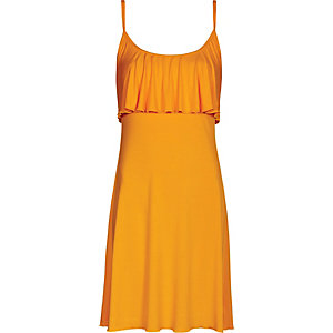 Beachlife Trägerkleid Damen orange