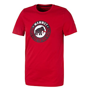 Mammut Vintage Printshirt Herren rot