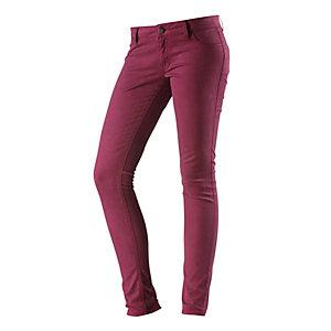 Burton Lorimer Skinny Fit Jeans Damen bordeaux