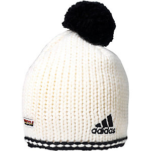 adidas DSV Crochet 2 Bommelmütze weiß/schwarz