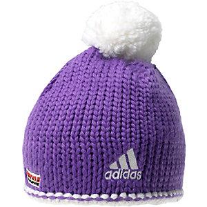 adidas DSV Crochet 2 Bommelmütze lila/weiß