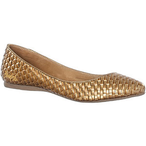 Blowfish Ballerinas Damen goldfarben