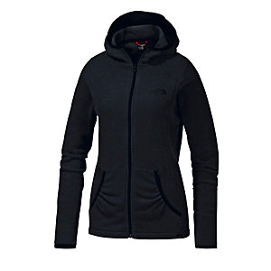 The North Face Masonic Hoody Fleecejacke Damen schwarz