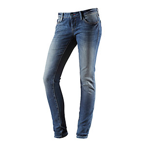 Mavi Lindy Skinny Fit Jeans Damen dark denim