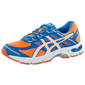 asics gel cumulus laufschuhe kinder orange blau im online. Black Bedroom Furniture Sets. Home Design Ideas