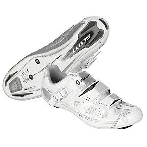 SCOTT Pro Lady Fahrradschuhe Damen weiß/silberfarben