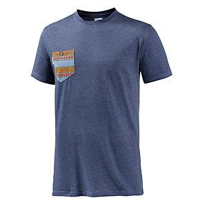 Volcom Printed Pocket T-Shirt Herren navy