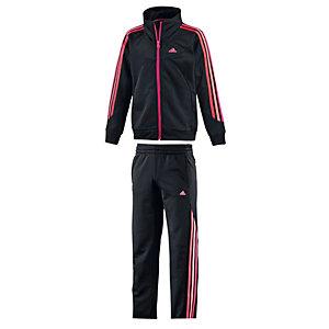 adidas Trainingsanzug Mädchen schwarz/pink