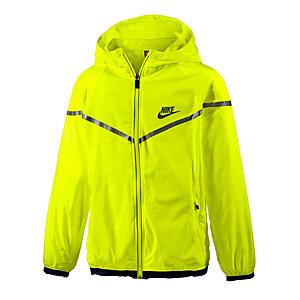 Nike Windrunner Laufjacke Jungen neongelb
