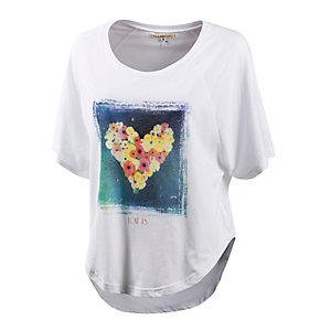 Billabong It Takes Two T-Shirt Damen weiß