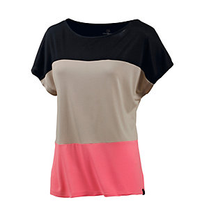 WLD Come to me II Oversize Shirt Damen schwarz/beige