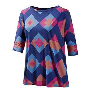 WESC Axelina Oversize Shirt Damen navy/rot