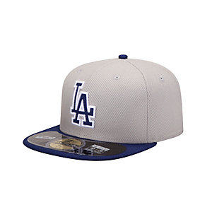 New Era LA Dodgers MLB BP 5950 Cap beige/schwarz