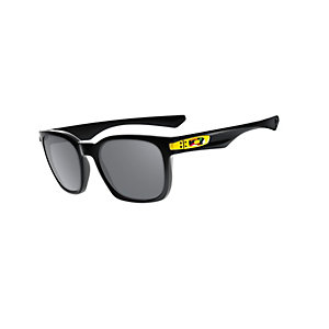 Oakley Garage Rock Sonnenbrille Herren VR/ 46 polished black/ grey