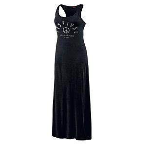 TOM TAILOR Jerseykleid Damen schwarz