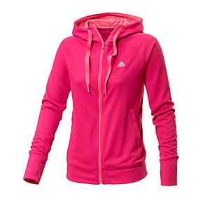adidas sweatjacke damen pink im online shop von. Black Bedroom Furniture Sets. Home Design Ideas
