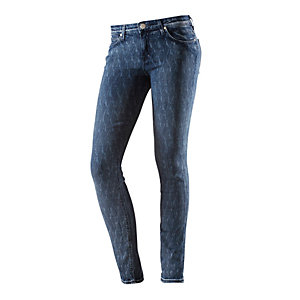 Lee Scarlett Skinny Röhrenhose Damen destroyed denim