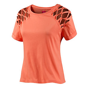 evaw wave T-Shirt Damen koralle