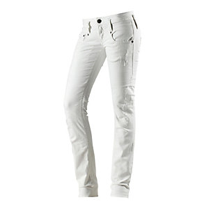 Herrlicher Pitch Straight Straight Fit Jeans Damen offwhite